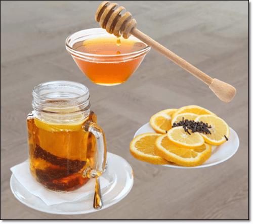 레몬 꿀물