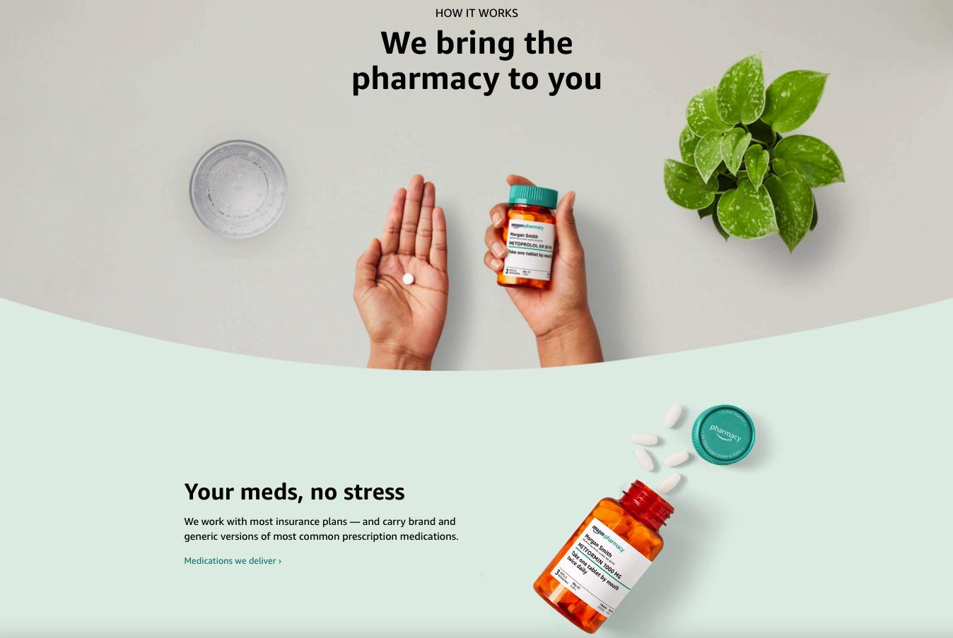 '아마존 약국' 미국 서비스 시작...온라인으로 처방전 보내고 약은 택배로 받는다
