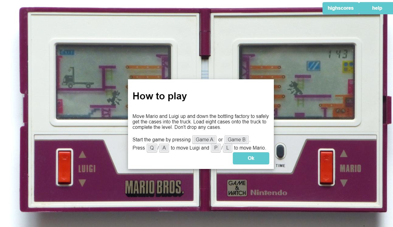 LCD 액정 게임기 하는 방법