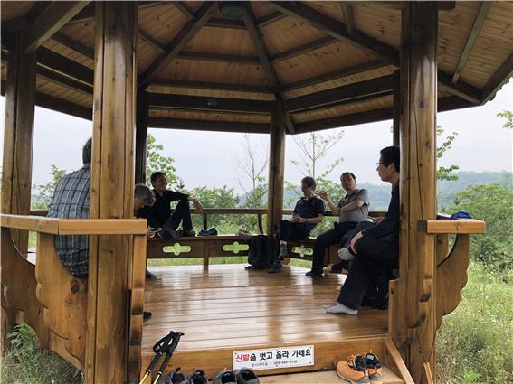 학봉 산악회 진주 비봉산 산행 2