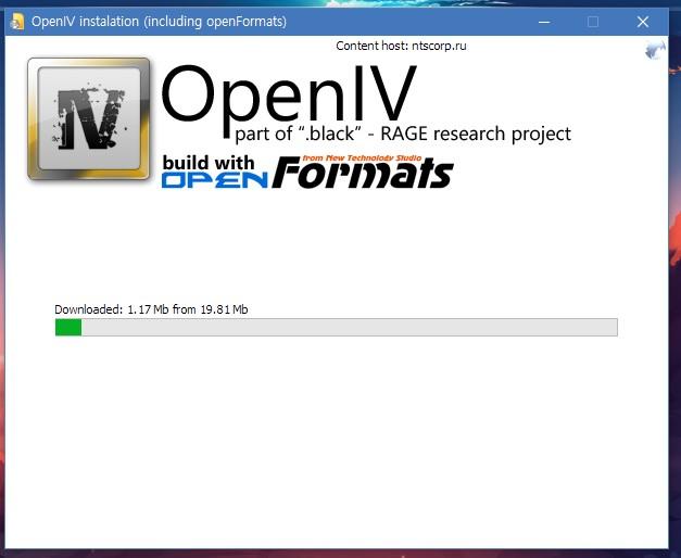 OpenIV로 모드 적용하기