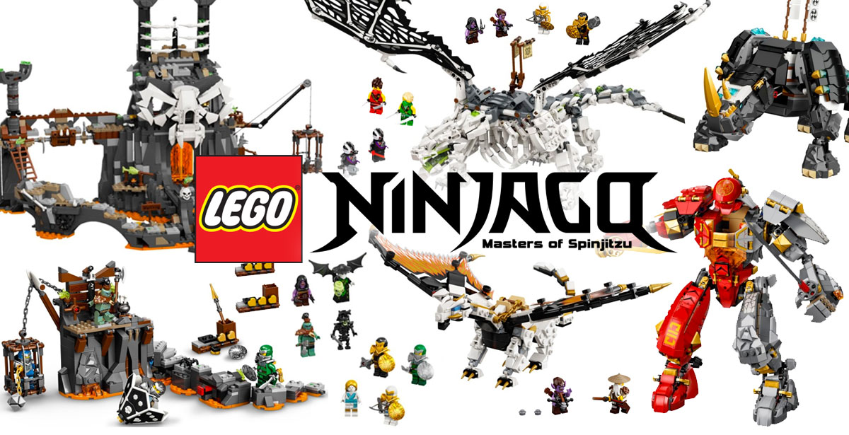 Lego Ninjago-Season 13 products released in the second half of 2020