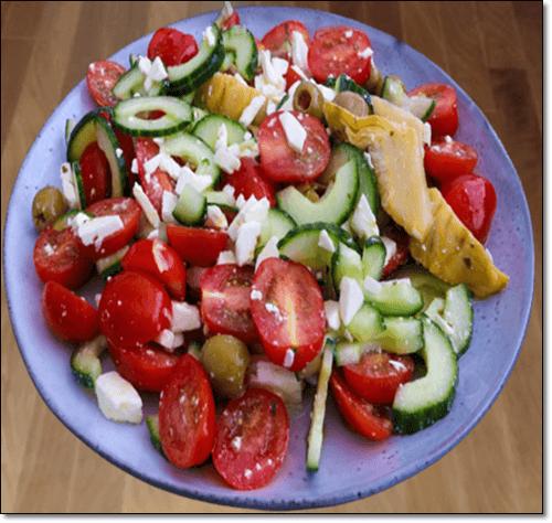 스테비아 방울 토마토 음식
