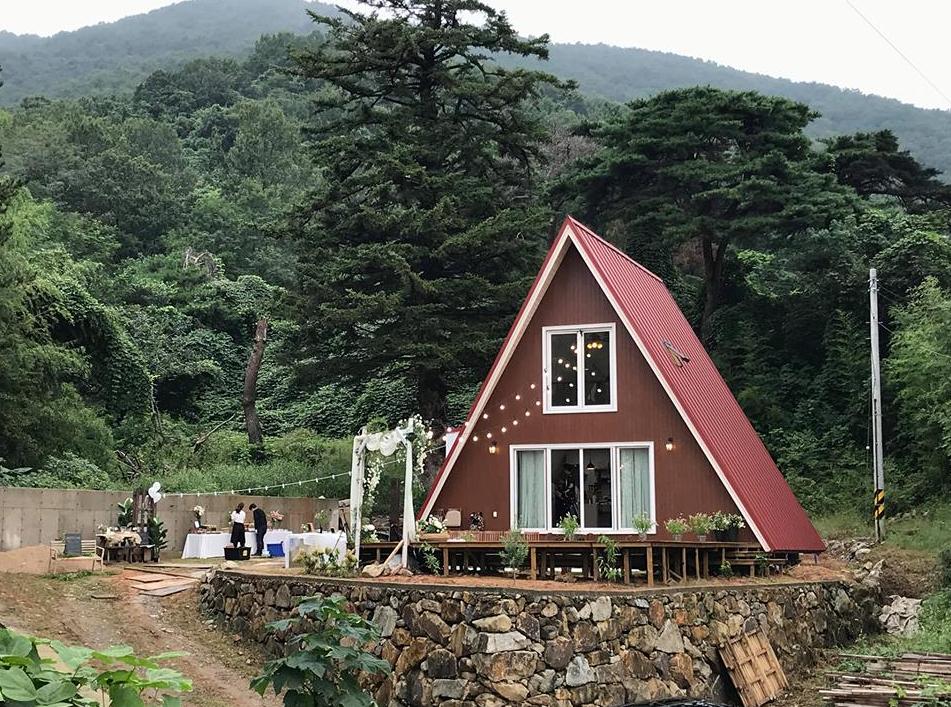 A 프레임 하우스