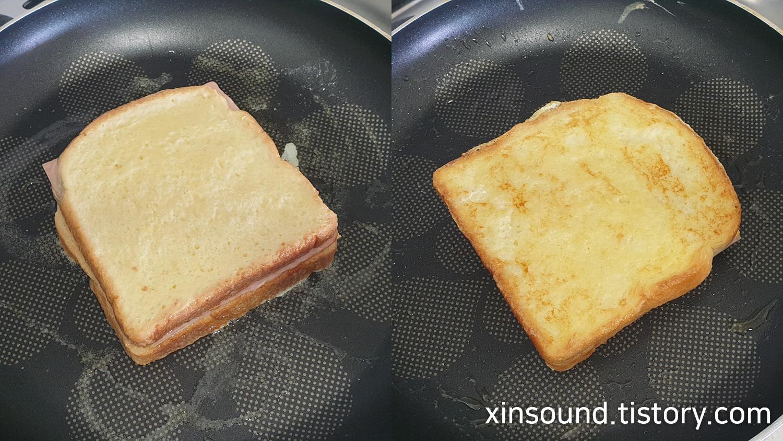 몬테크리스토 샌드위치 만들기