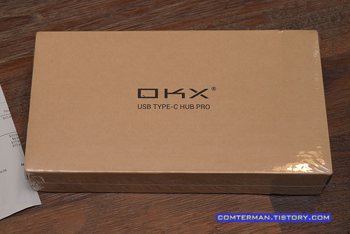 OKX USB Type-C HUB Pro 박스