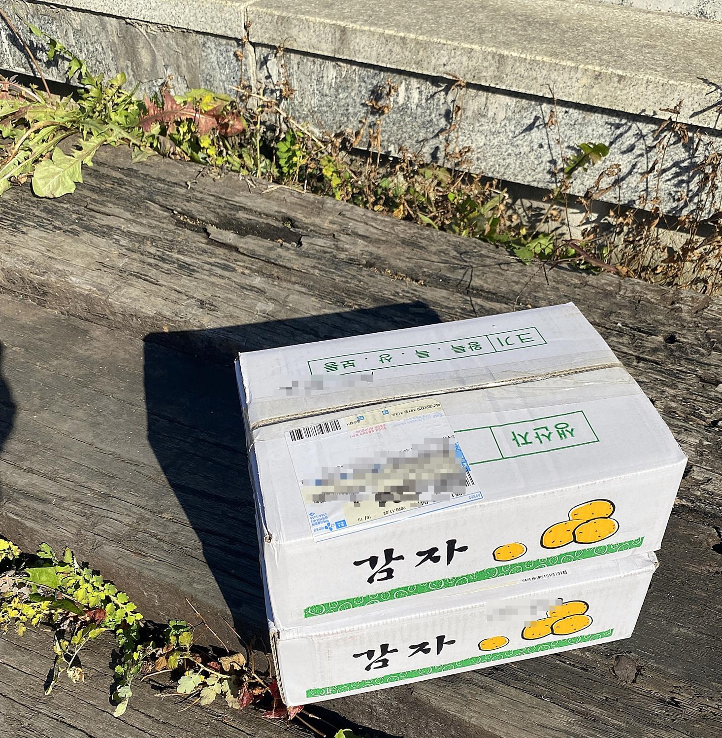 감자 상자