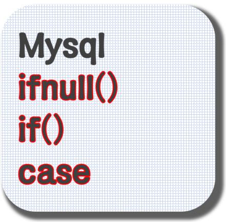 Mysql ifnull