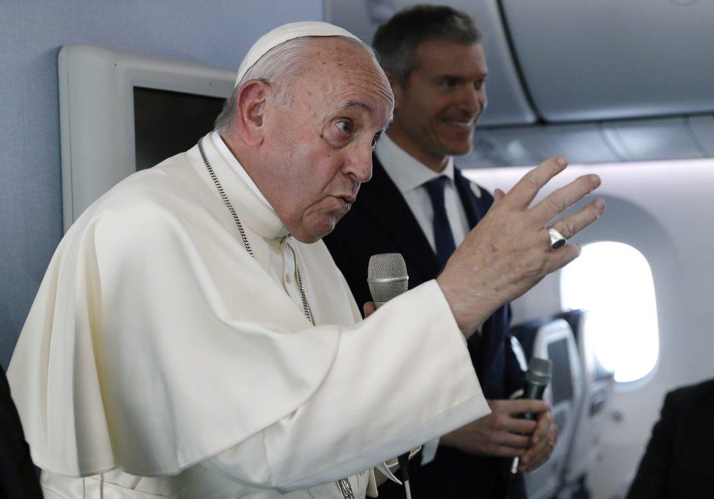 """프란치스코 교황 """"핵무기, 보유 자체로 비도덕적""""…37년 만에 교황청 공식 강령 바꾼다"""