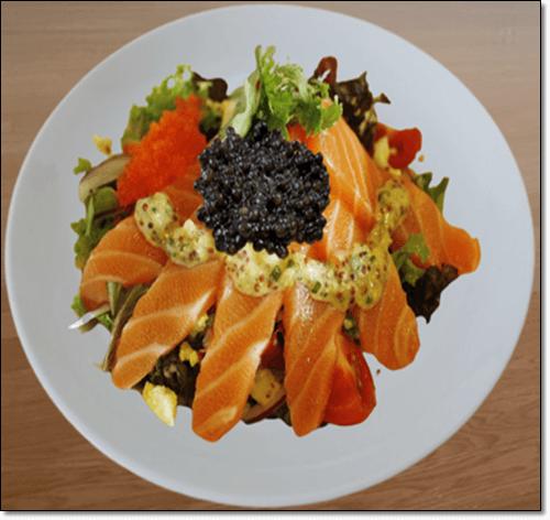 캐비아 음식