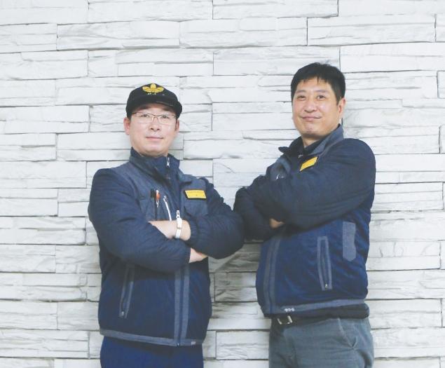 <안전 초대석> 승강기 유지관리 현장 유튜브 채널 '훈&정 엔지니어' 운영자김희훈·정한섭 엔지니어