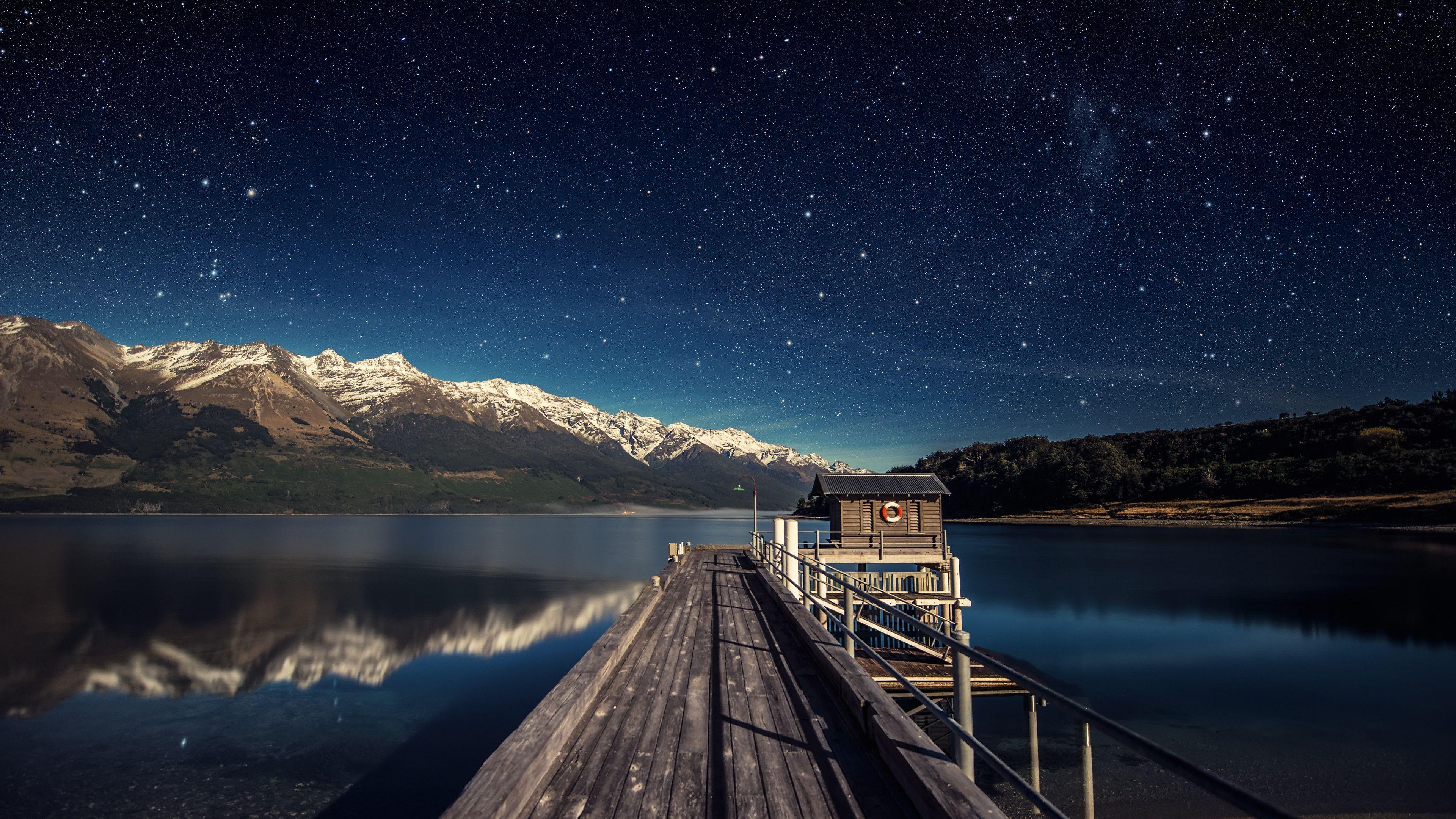 earth - lake