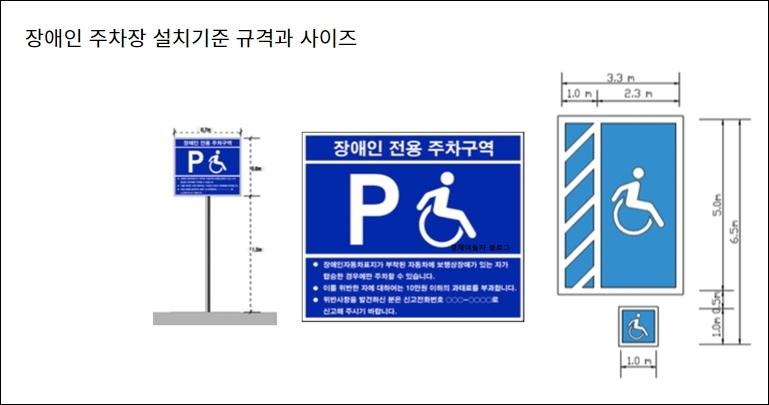다리 깁스 환자도 장애인 주차장 이용할 수 있으면...