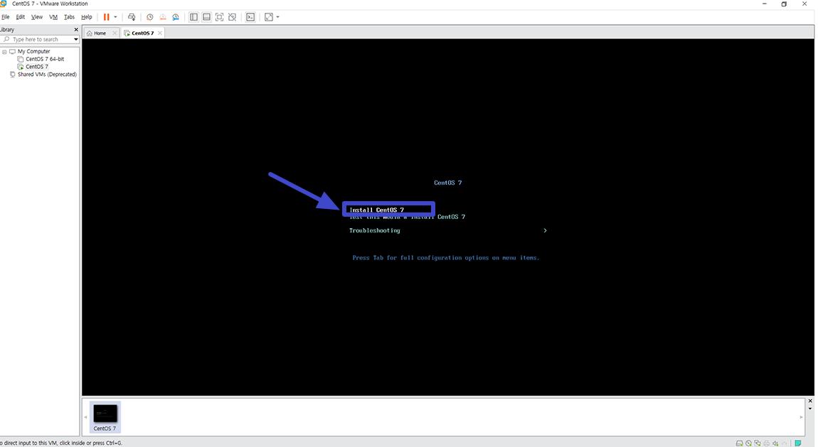 VMware Workstation Pro Cent Os 7 설치방법