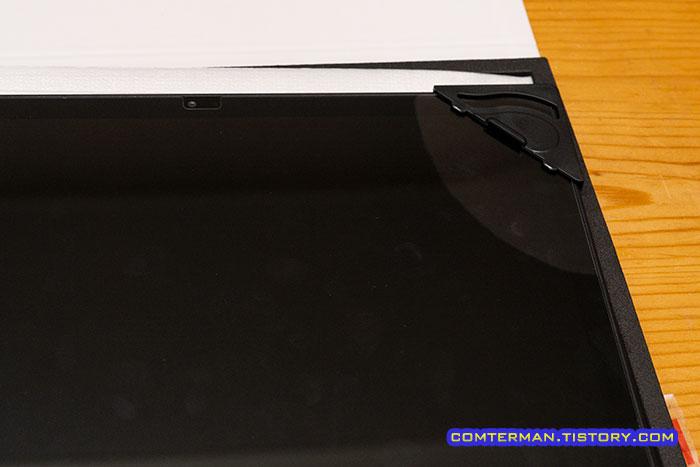 태블릿 강화유리 부착틀 장점