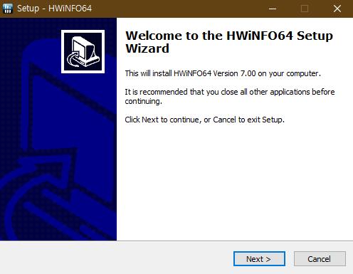 컴퓨터 스펙 정보 HWINFO 사진2