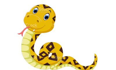 황금색 뱀은 재물운을 상징하는 길조