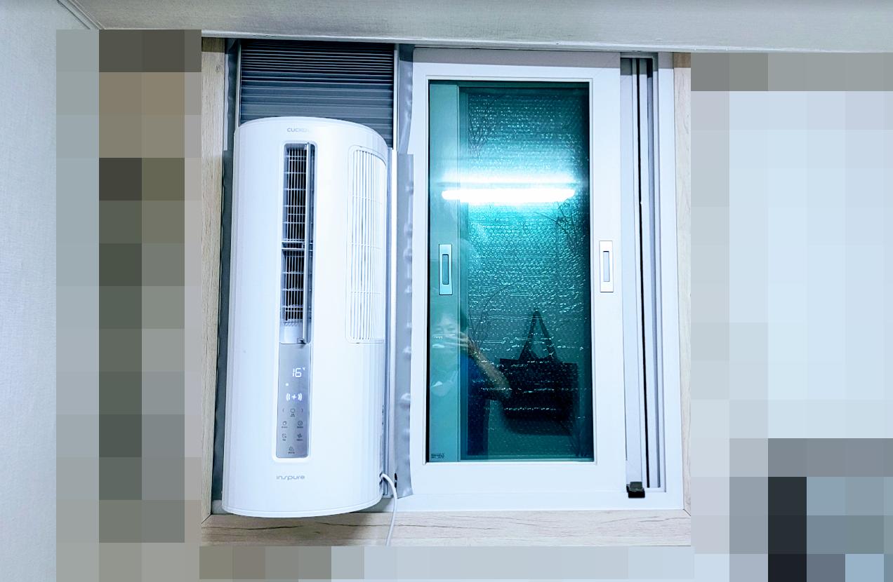 쿠쿠 창문형에어컨 CA-AW0610W 직접 구매 설치후기 사진8