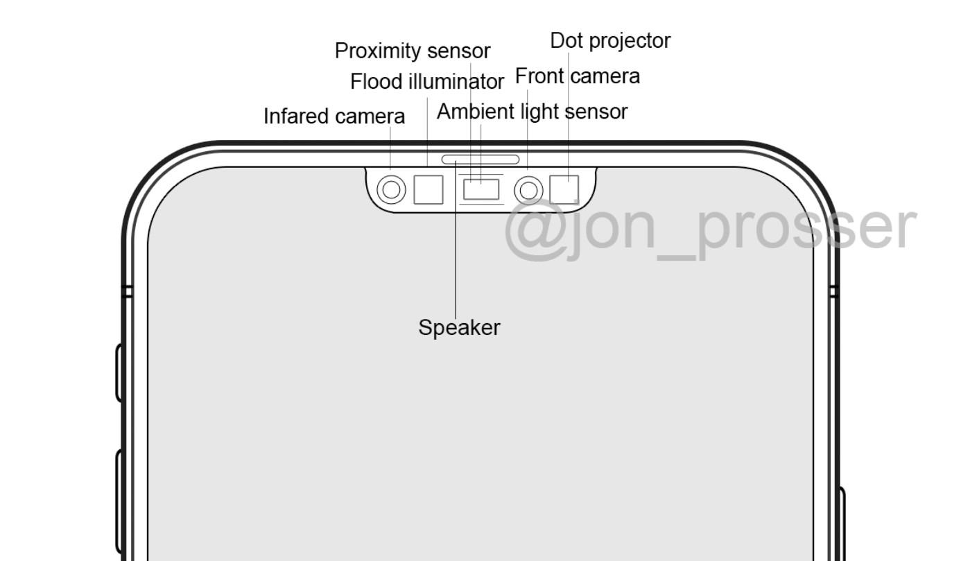 아이폰12 노티 디자인, 출처 : 트위터 jon_prosser