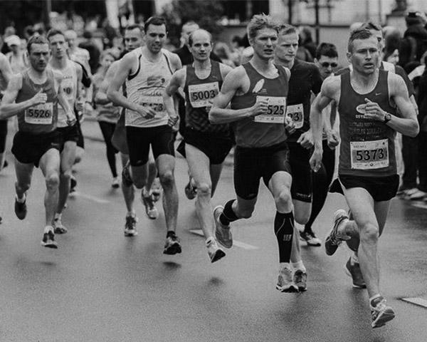 경쟁자 - 경쟁 - 마라톤 모습