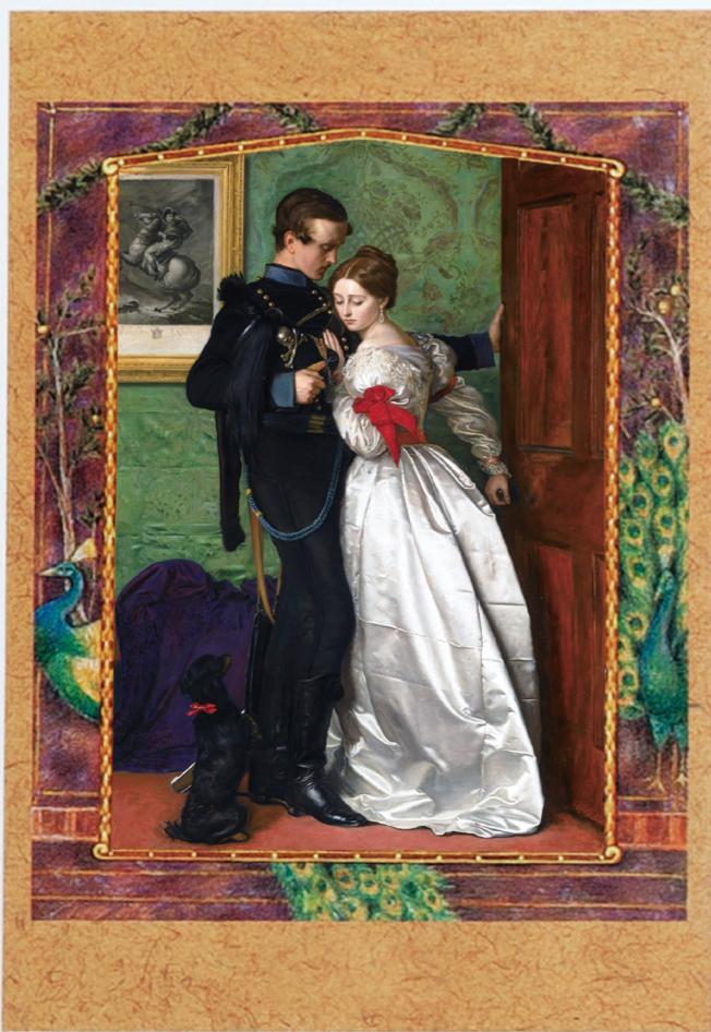 'The Black Brunswicker', John Everett Millais, oil on canvas, 66×99cm, 1860
