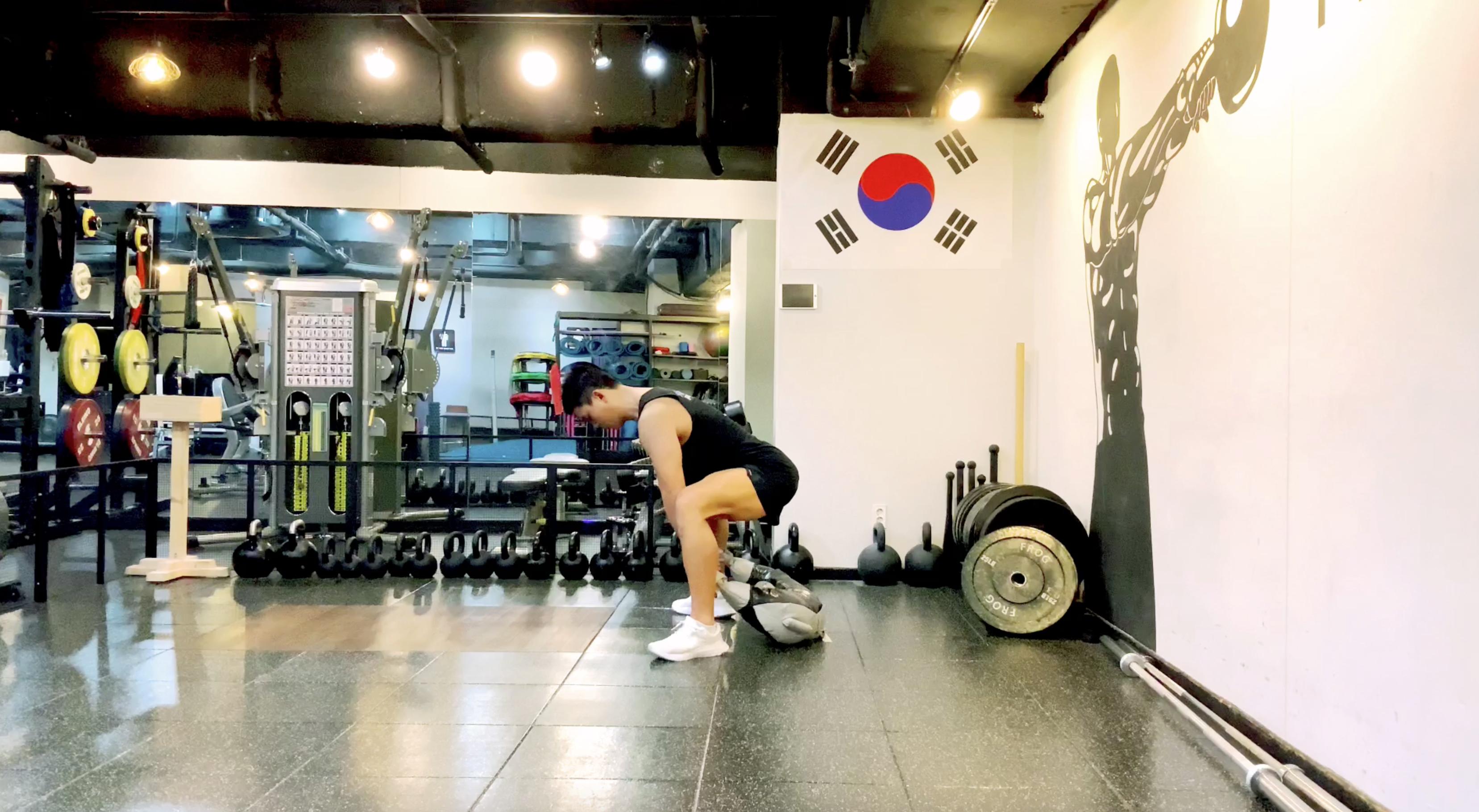 전신 운동, 불가리안 백 스내치 1분만에 배우기! | 서울역PT 만리동PT 중림동PT