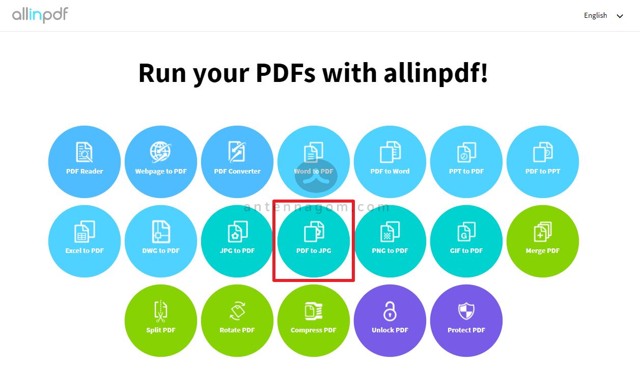 PDF JPG 변환 방법 8