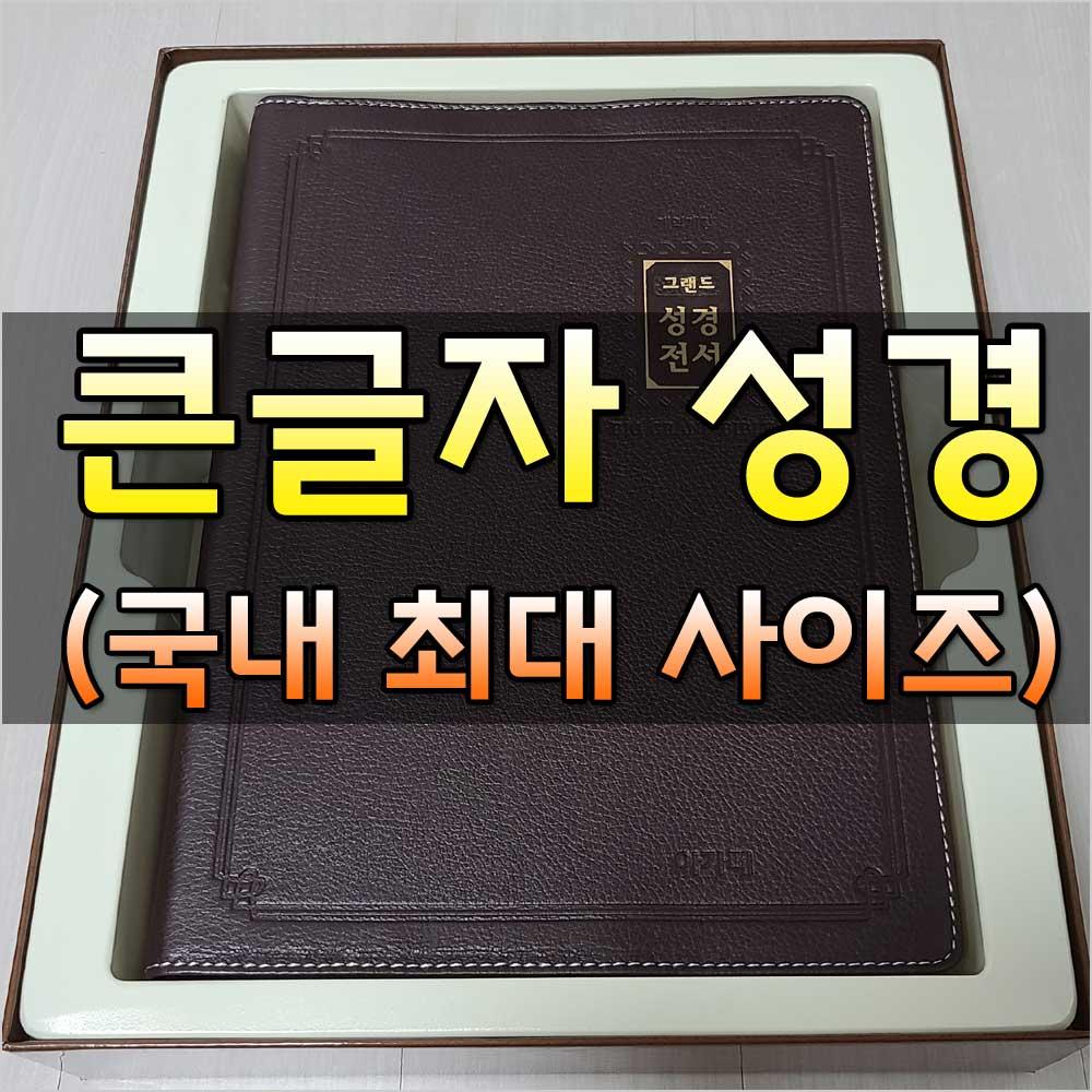 초대형큰글자성경