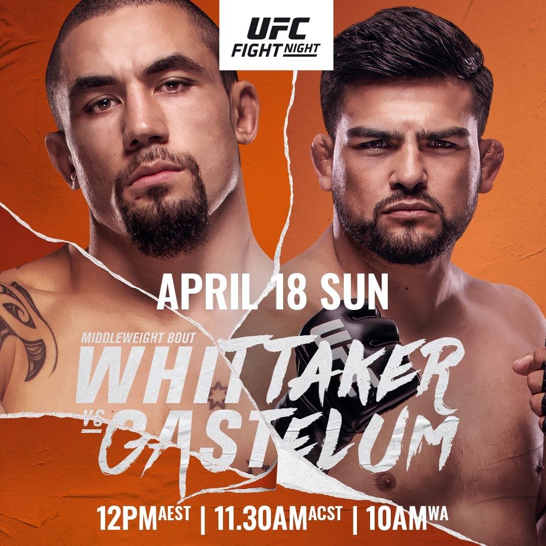 UFC 베가스 24 로버트 휘태커 VS 켈빈 가스텔럼 MMA 선수들의 승자 예상 - 7:2