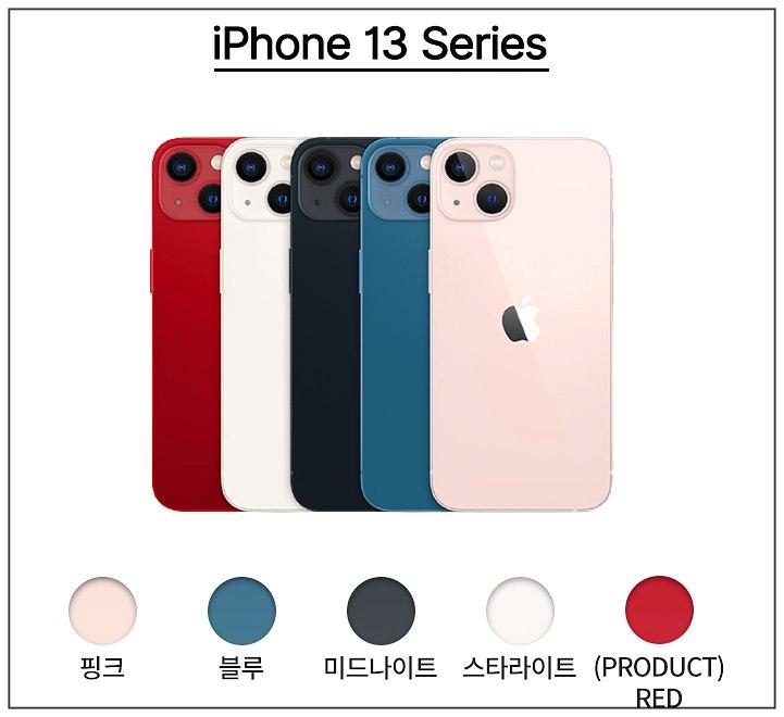 아이폰13-시리즈-종류