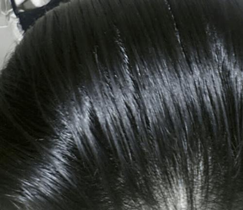 기름진머리카락