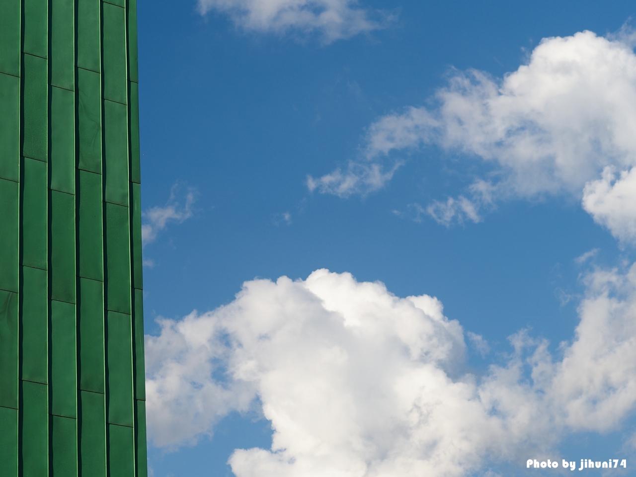 [시선] 가을 하늘아래 요트가 함께 하는 풍경