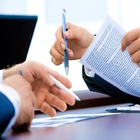 회사 증명서 서류 제출
