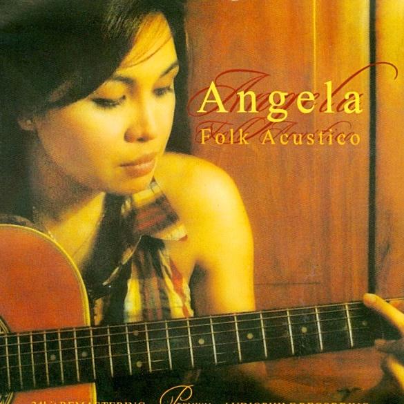 안젤라 Folk Acustico 음반 표지