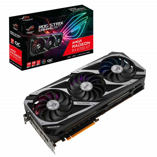 AMD Radeon RX 6700 XT 시리즈 ROG Strix·TUF Gaming·Dual 그래픽카드 출시