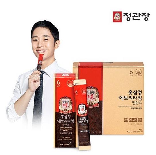 [정관장] 정관장 홍삼정 에브리타임밸런스 10ml 30포 1박스