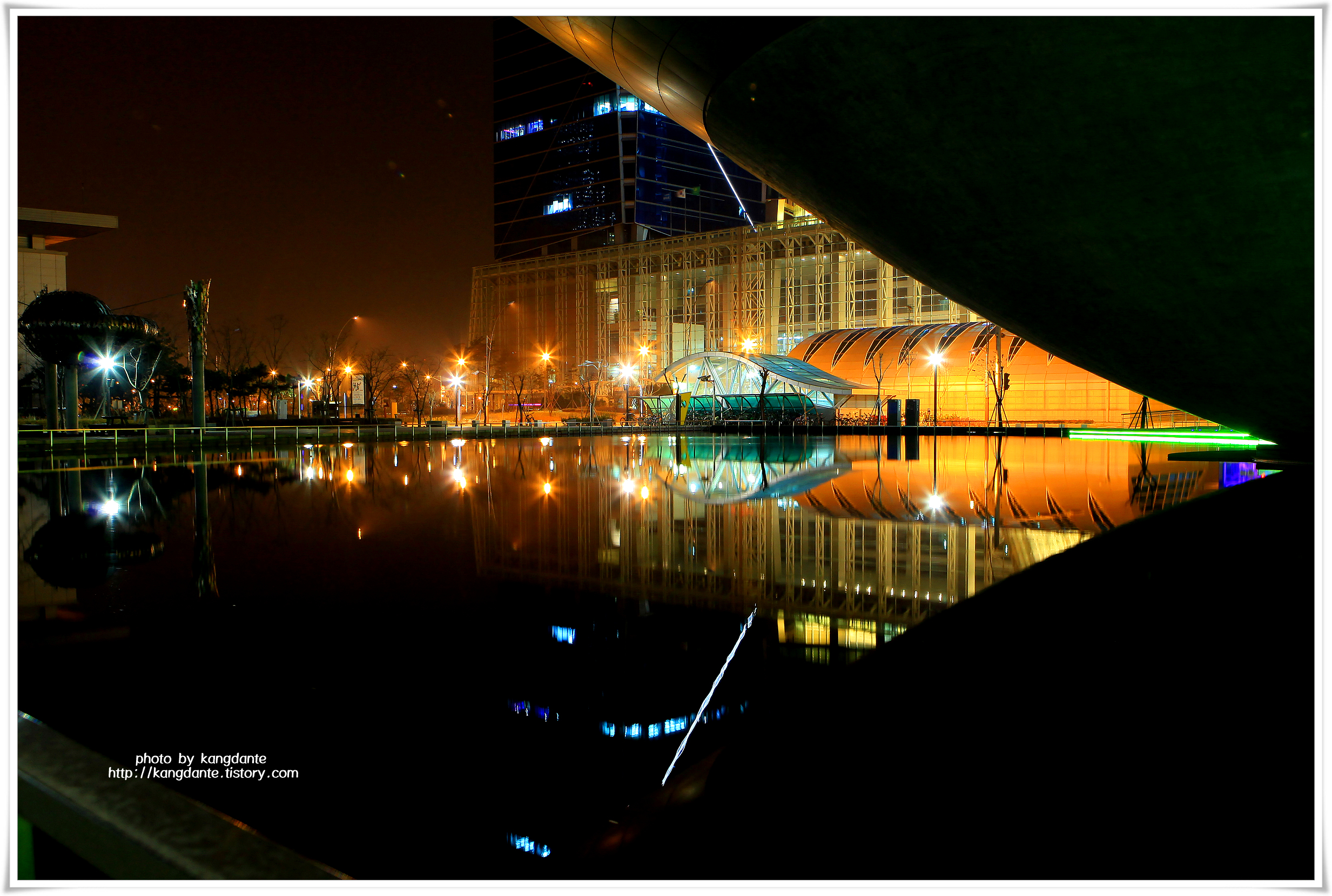 [한장의 사진] 송도 센트럴파크 야경
