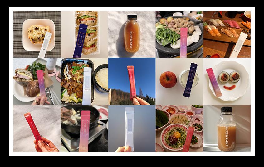 딥트 3일 구매자들의 제품 사진