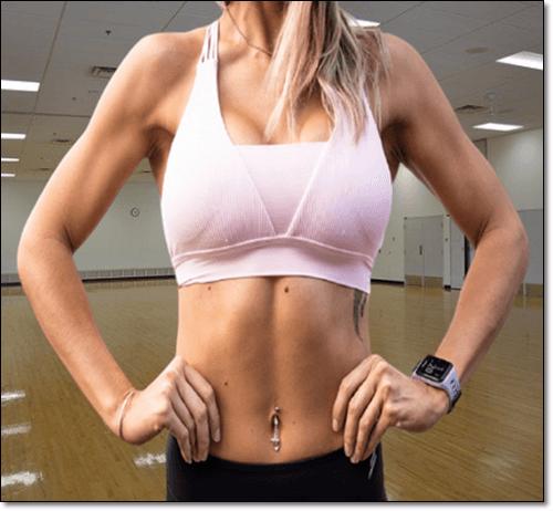 근육질 여성