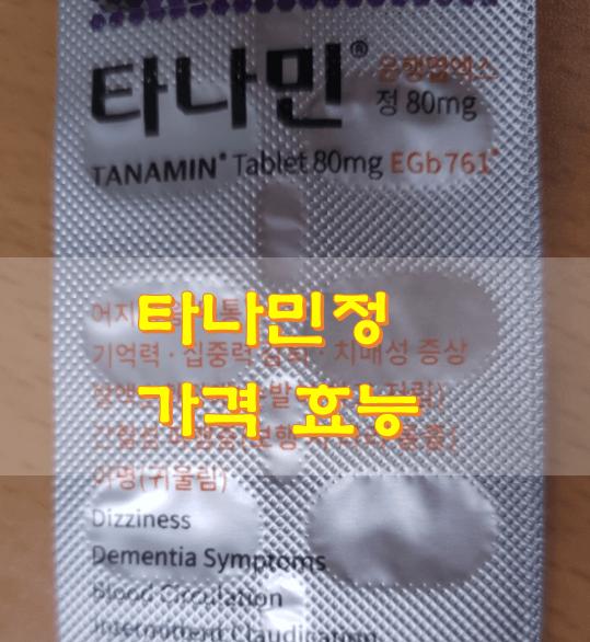 타나민정-80mg-제품