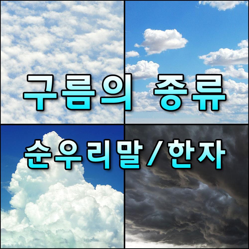구름의종류