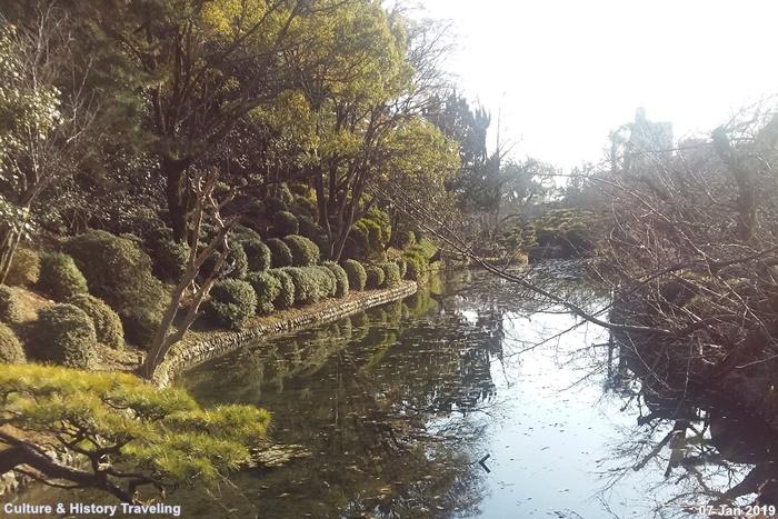 일본 에히메현 유즈키성(湯築城)