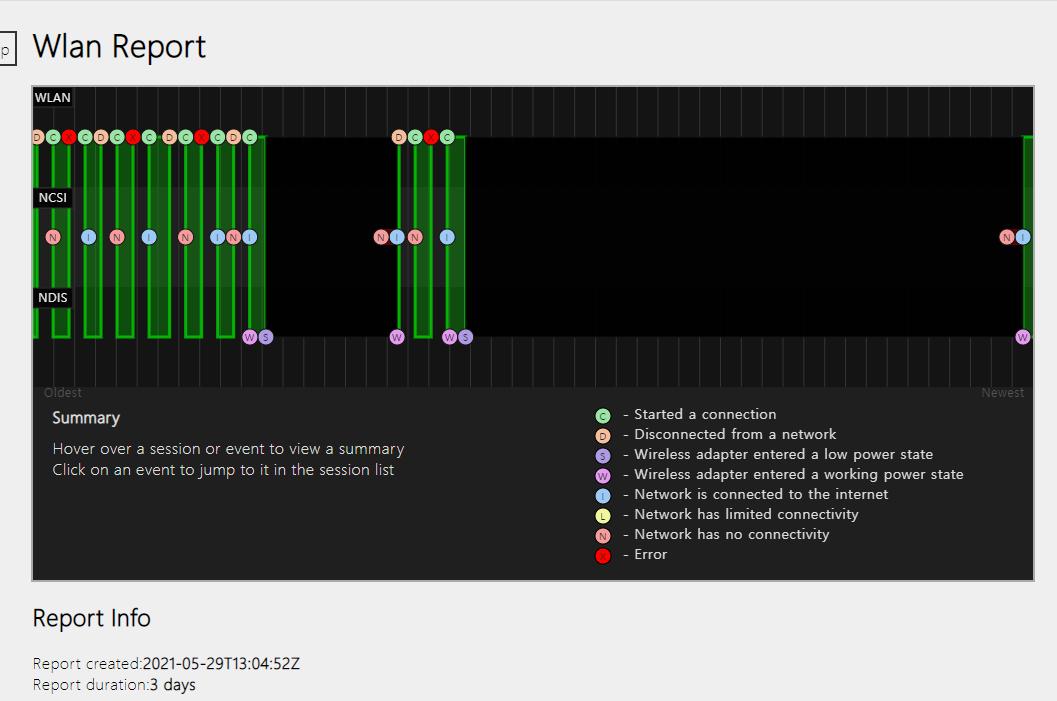 윈도우10 네트워크, 배터리, 하드웨어 정보 HTML 만들기 캡처 2