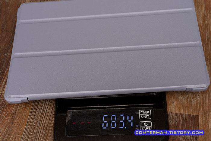 갤럭시탭A7 2020 북커버 무게