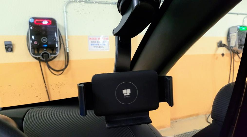 갤럭시 폴드2 거치대 나비 와이드 무선 고속충전 거치대 리뷰 사진 5