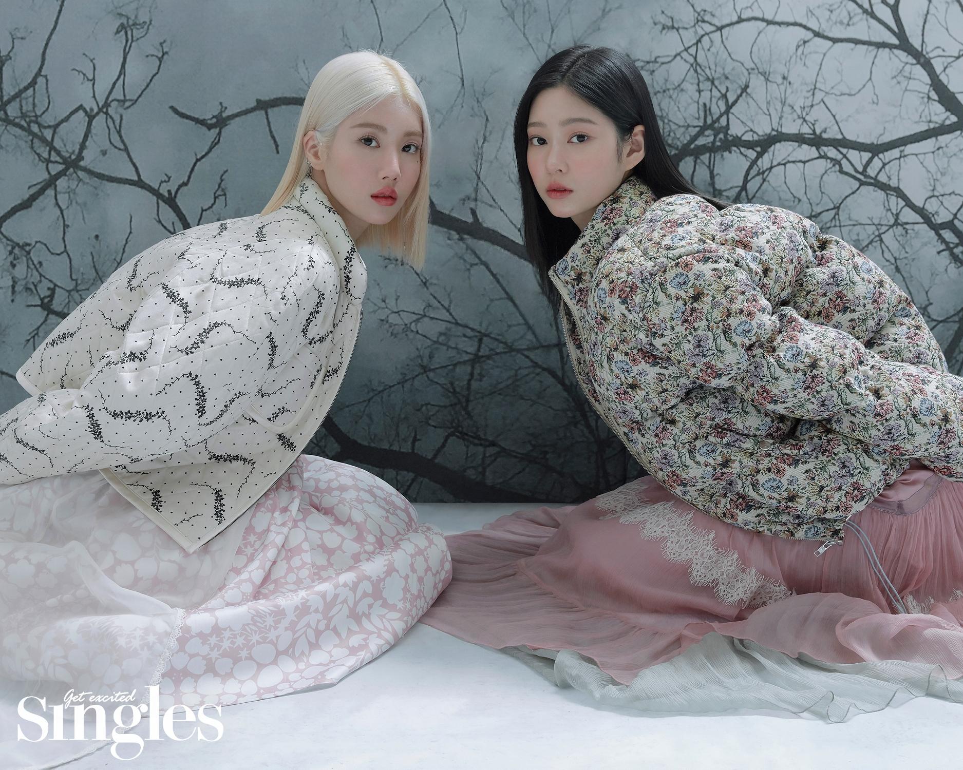 아이즈원[IZONE] 권은비, 김민주 싱글즈 2021 1월호 고화질 화보 7장