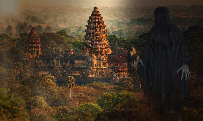 캄보디아 밀림에서 발견된 유령 도시