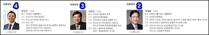 대한민국부자순위-이재용-서정진-김정주