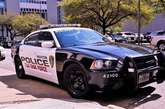 휴스톤의 멋진 경찰차