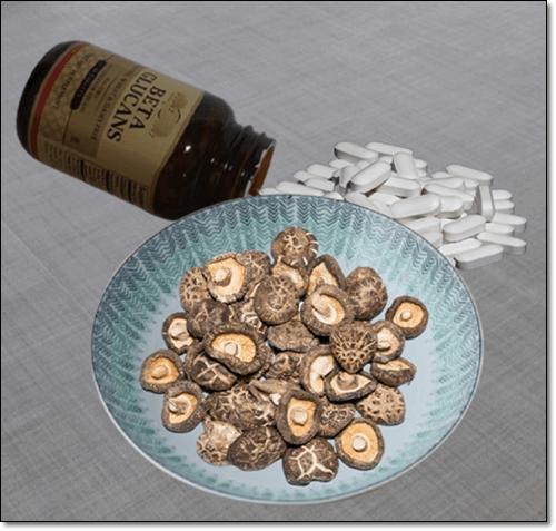 베타글루칸 표고버섯